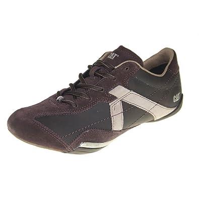 footwear Marrón Piel Cat Jibe Hombre Zapatillas Para Deporte De OwZlXuTkiP