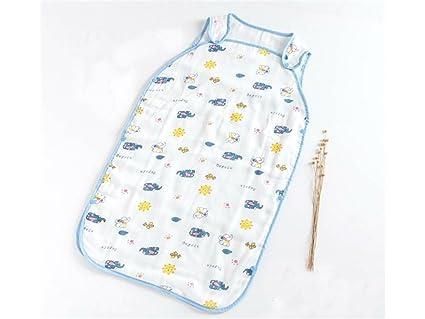 JxucTo Bolsa de dormir anti-patada del verano del bebé recién nacido Sección delgada Sleepsacks