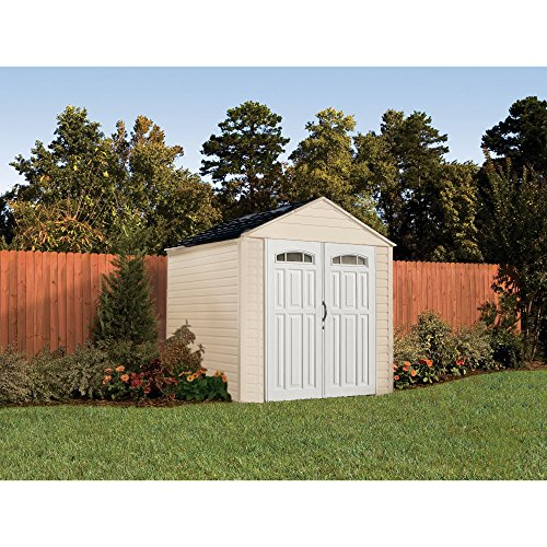 Rubbermaid 7x7 feet x large 325 cubic feet outdoor storage for Garden shed uae