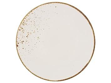 1 St/ück Vivo Villeroy /& Boch Group 1952692640 V /& B Group Stone Ware White Fr/ühst/ücksteller 21,5 cm