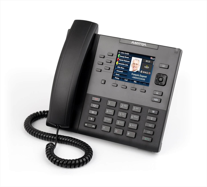6867I SIP PHONE MID RANGE POE 2XGIGE Mitel 80C00002AAA-A