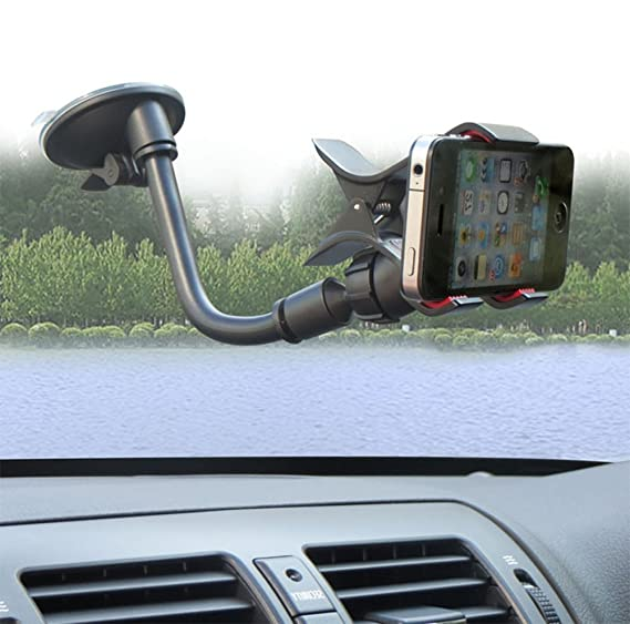 Amazon.com: Da.Wa Desktop Cell Phone Stander Car Windscreen Holder Cradle Universal Mount Stand Holder Support for Cell Phone: Cell Phones & Accessories