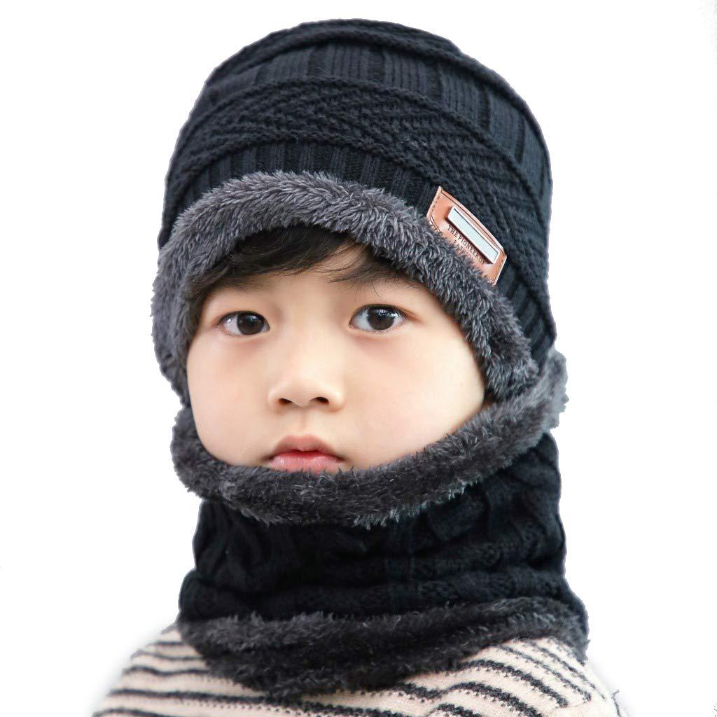 OriFiil Beanie Bambino Cappello Inverno Bambino Sciarpa 6b137092aebc