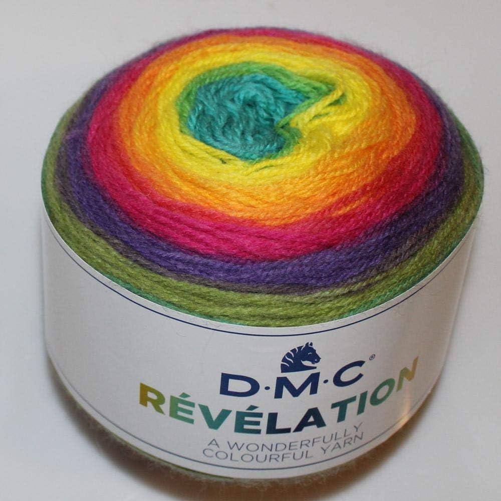Lanas DMC Revelation Ovillo de Color Iris Cod. 202