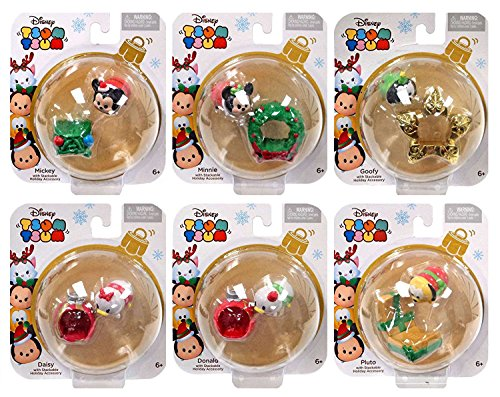 Set Disney Stackable Holiday Figures