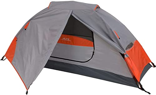 ALPS Mountaineering Koda 1 Tent: 1-Person 3-Season Orange/Grey, One Size