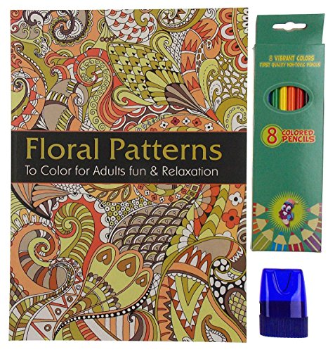 Floral Relief Pattern - 5