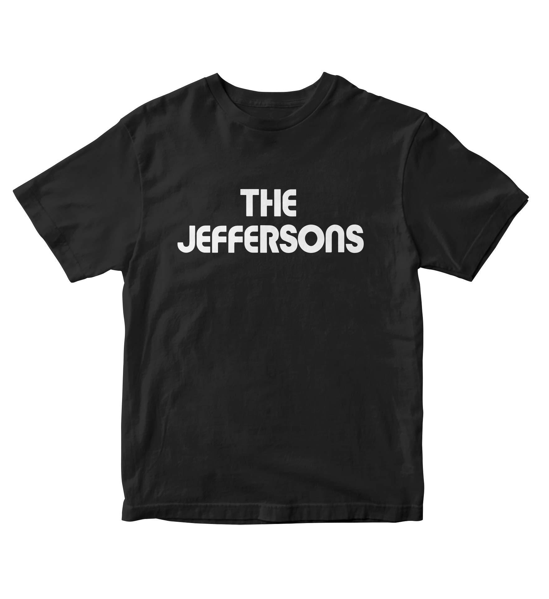 Tjsports The Jeffersons Black Shirt S Tv Show M162