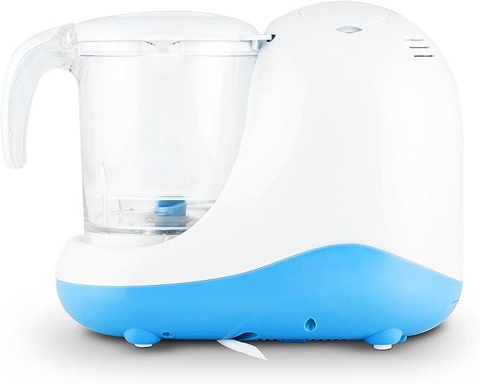 Klarstein Junior Chef - Robot de cocina (0,3 L, Azul, Blanco, Sensor, 220-240, 50-60 Hz, 270 mm): Amazon.es: Hogar