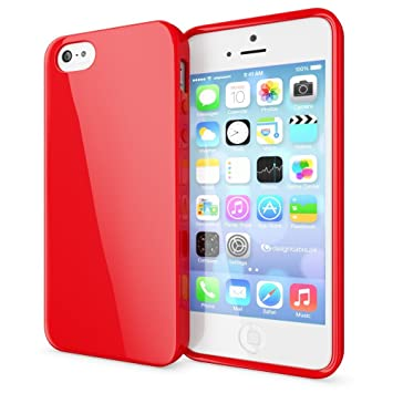 NALIA Funda Compatible con iPhone SE 5 5S, Ultra-Fina Gel ...