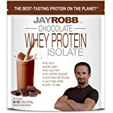 Jay Robb Whey Isolate Protein Powder, Low Carb, Keto, Vegetarian, Gluten Free, Lactose Free, No Sugar Added, No Fat, No…
