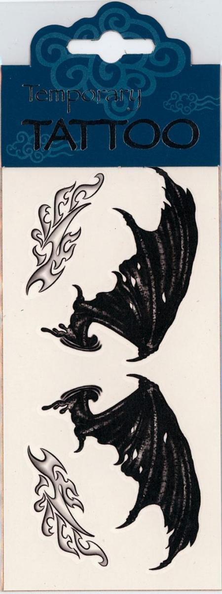 Horror-Shop Alas del Tatuaje del ala del Demonio: Amazon.es ...