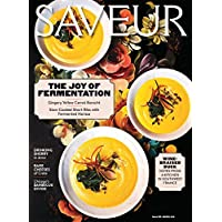 1-Year (4 Issues) of Saveur Magazine Magazine Subscription