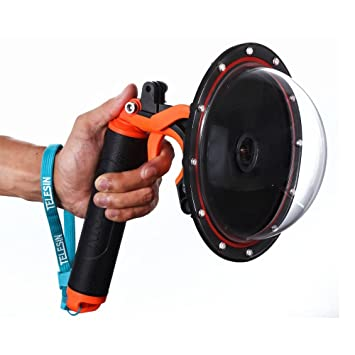 Amazon.com: TELESIN - Puerto de cúpula con pistola de 5.9 in ...