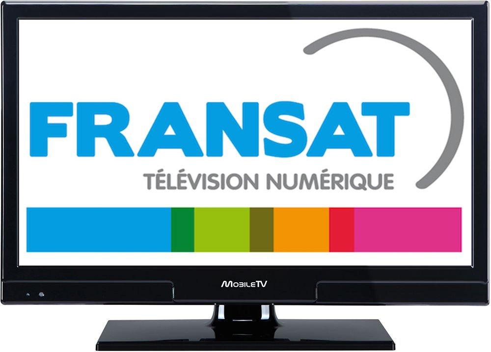 Televisión TV HD 21.5 + Demo Satellite Fransat Autocaravana ...