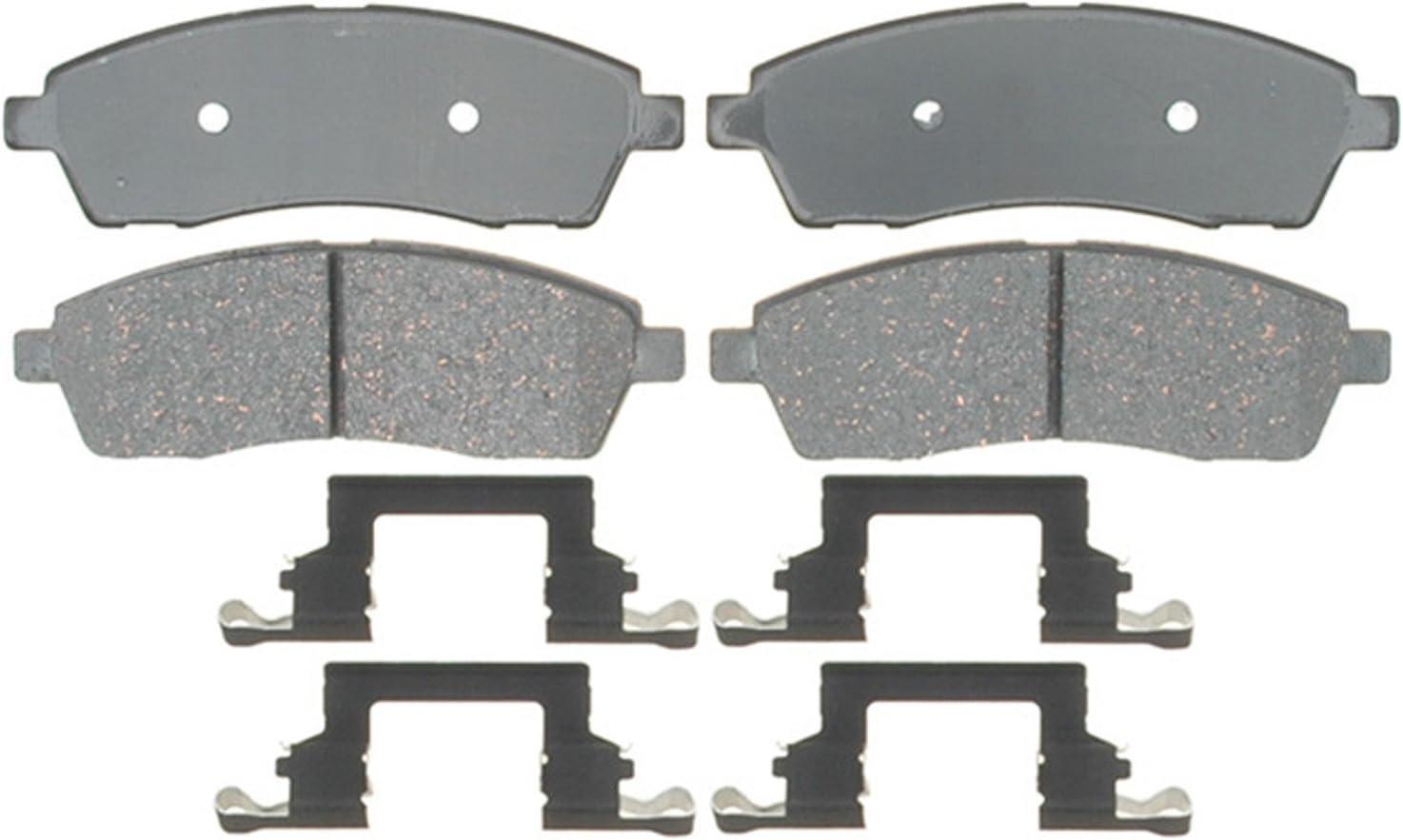 ACDelco 17D757CH Professional Ceramic Rear Disc Brake Pad Set