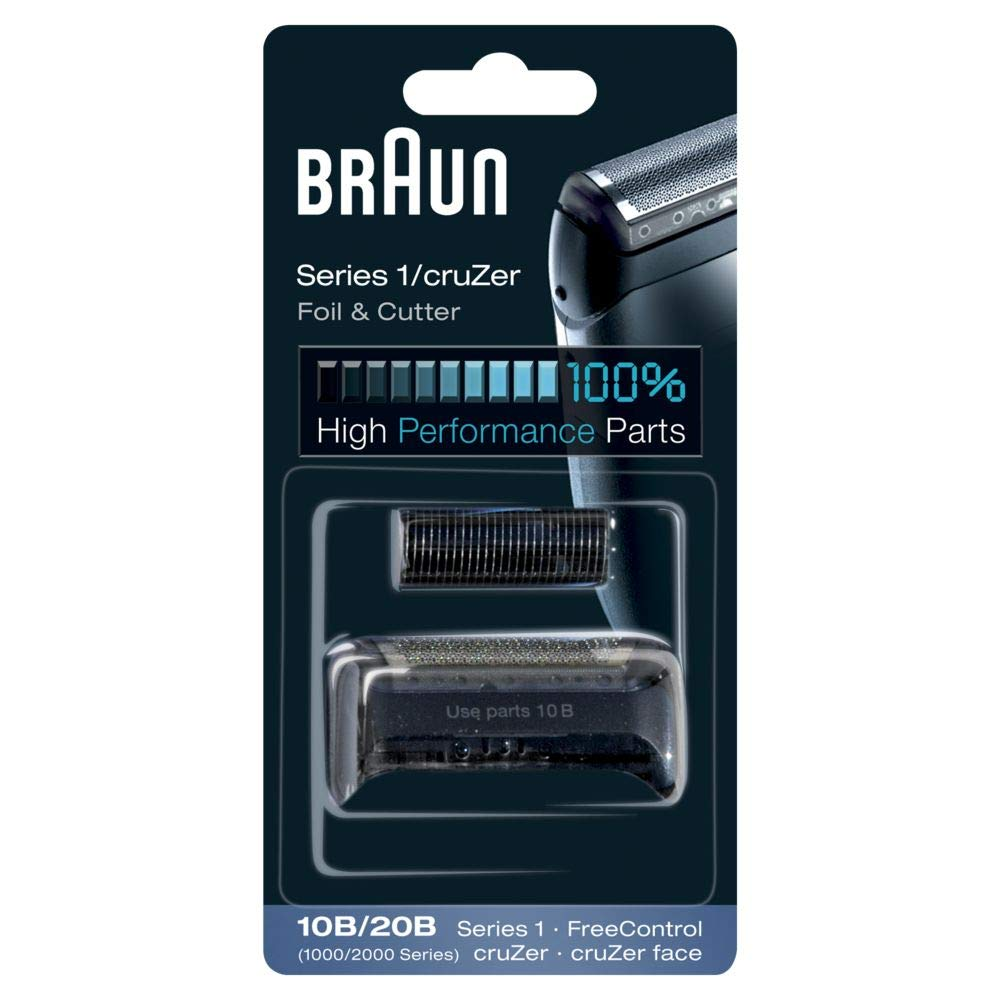 Braun 10B Replacement Foil and Cutter Cassette Multi Black BLS Combi Pack GroceryCentre 81387932