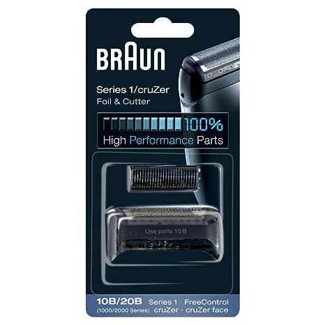 Braun 10B - Recambio para afeitadora eléctrica hombre Series 1 FreeControl CruZer 8ca3e28e7728