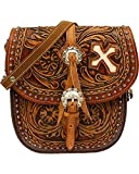 Blazin Roxx Women's Cora Saddle Bag Brown One Size