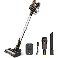 Cordless Vacuum Cleaner, 23Kpa Strong Suction Stick Vacuum with 45min Max Long Runtime Detachable Battery, Extra Large…