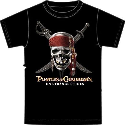 Disney Niños Piratas del Caribe Camiseta: Amazon.es: Ropa y accesorios