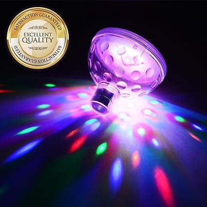 Amazon.com : Eutuxia LED Swimming Pool Lights. Illuminate Pools ...
