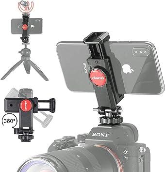 ULANZI ST-06 Soporte para teléfono con Zapata para cámara con ...