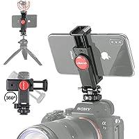 Black nobrand LTOnlineStore Stand Bracket Metal Flash Bracket for DSLR Camera