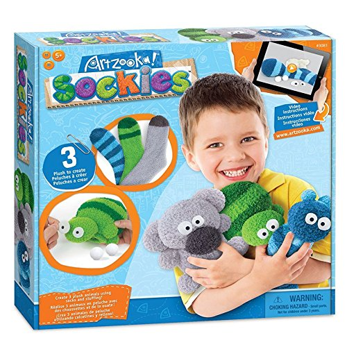 Kits S Puppet - Artzooka Sock Puppets