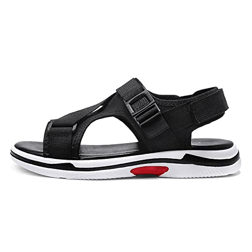 a193207f8 LEDLFIE Sandals Men Beach Shoes Velcro Summer Casual Outdoor Slippers