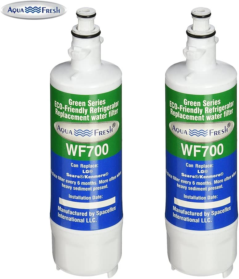 Aqua Fresh Replacement Water Filter 3 Pack Fits LG LFXS29626S Refrigerators