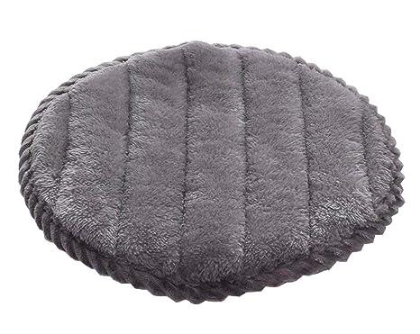 Station w morbida copertura in flanella per tappetino rotondo