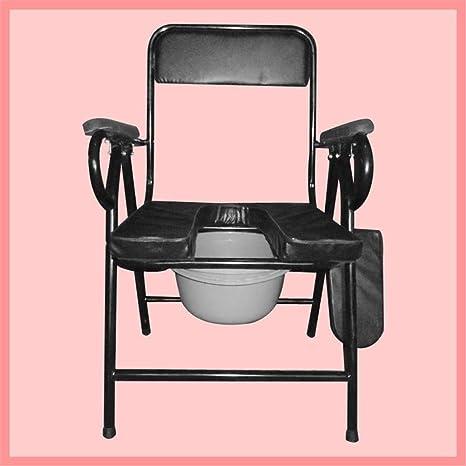 Modylee silla plegable con inodoro Ancianos - Inodoro ...