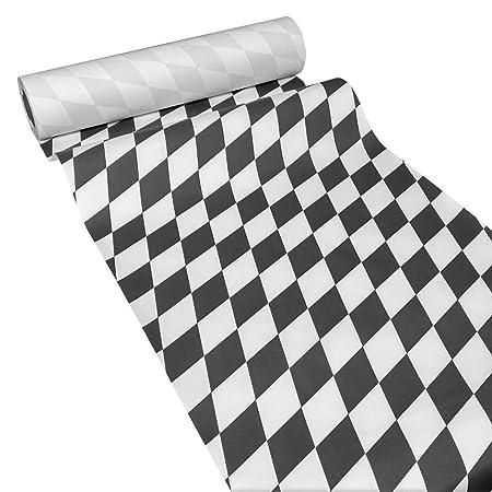 JUNOPAX 38571505 - Camino de mesa de papel (50 x 0,40 m), diseño ...