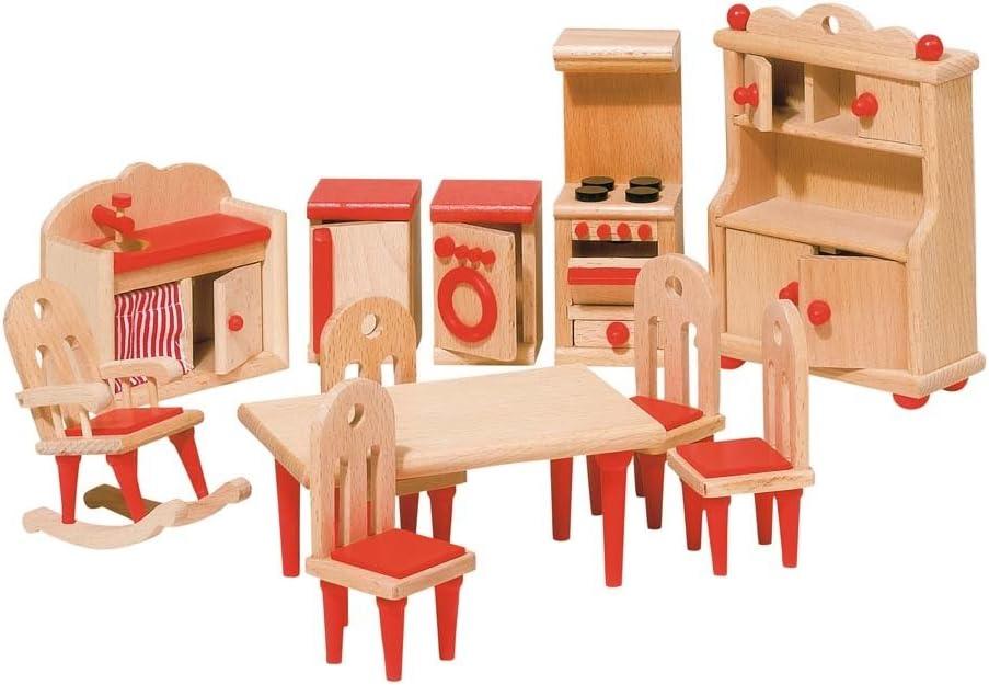 Goki Doll Furniture Kitchen (11 Piece)
