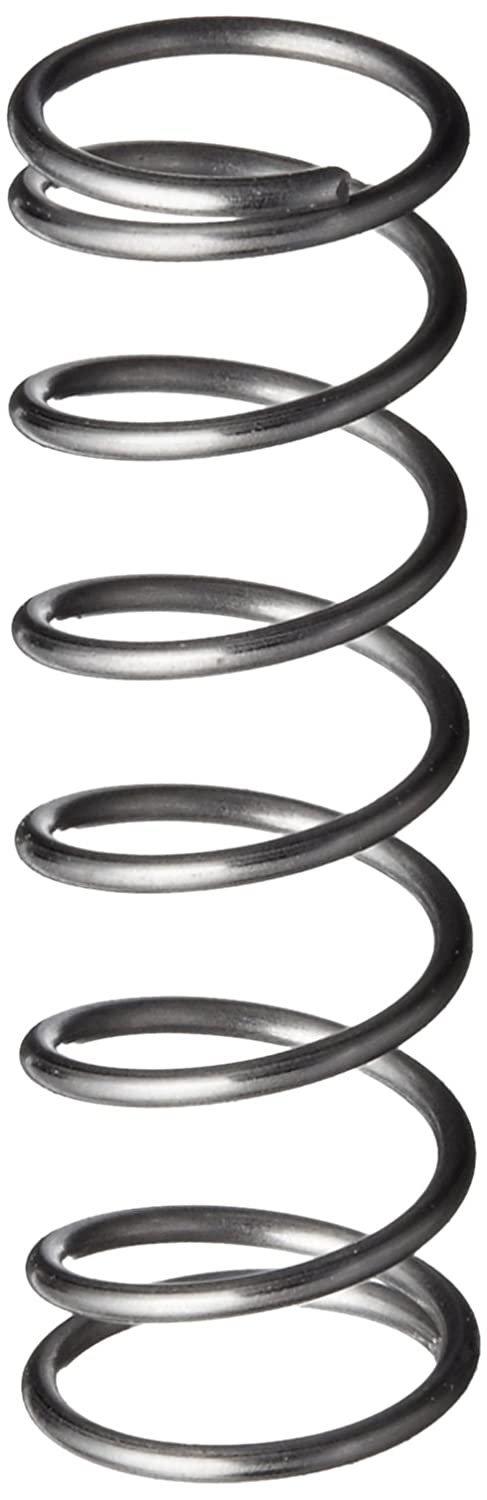 0.016 Wire Size 6.25 lbs//in Spring Rate 0.18 OD Inch 302 Stainless Steel Pack of 10 0.31 Free Length 1.04 lbs Load Capacity Compression Spring 0.143 Compressed Length