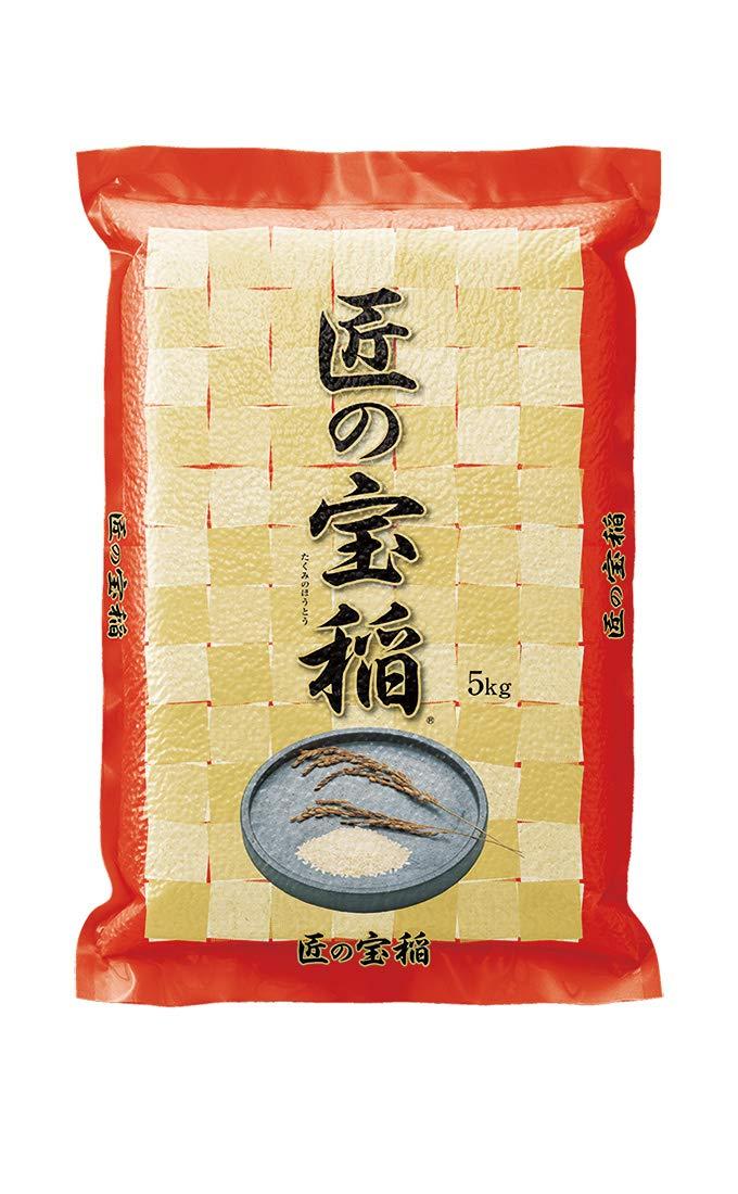 米袋 ラミ 真空 匠の宝稲 5kg 1ケース(500枚入) VN-0005 B07NFF3TJL 1ケース(500枚入) 5kg用米袋