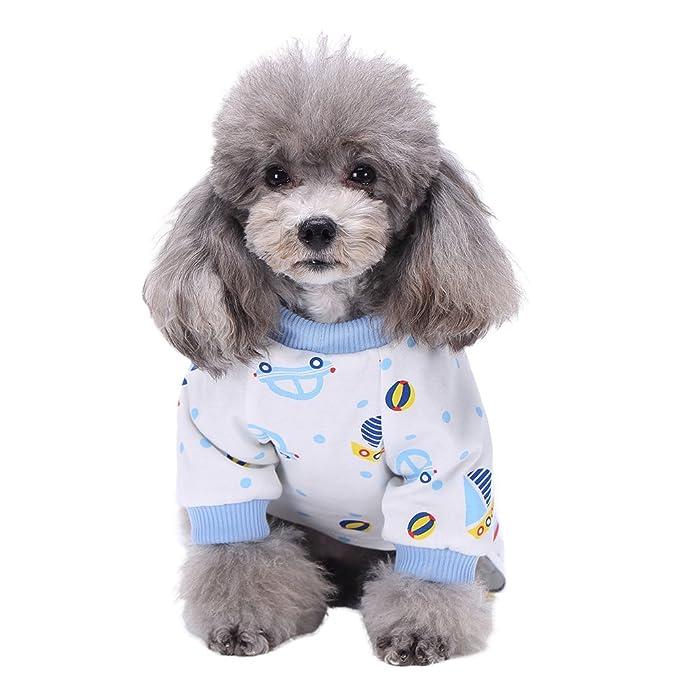 Sunshay Patrón de dibujos animados de algodón para mascotas ...
