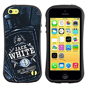 Be-Star Colorful Printed Design Anti-Shock Iface First Class Tpu Case Bumper Cover For Apple iPhone 5C ( jack bottle liquor whiskey black white ) Kimberly Kurzendoerfer