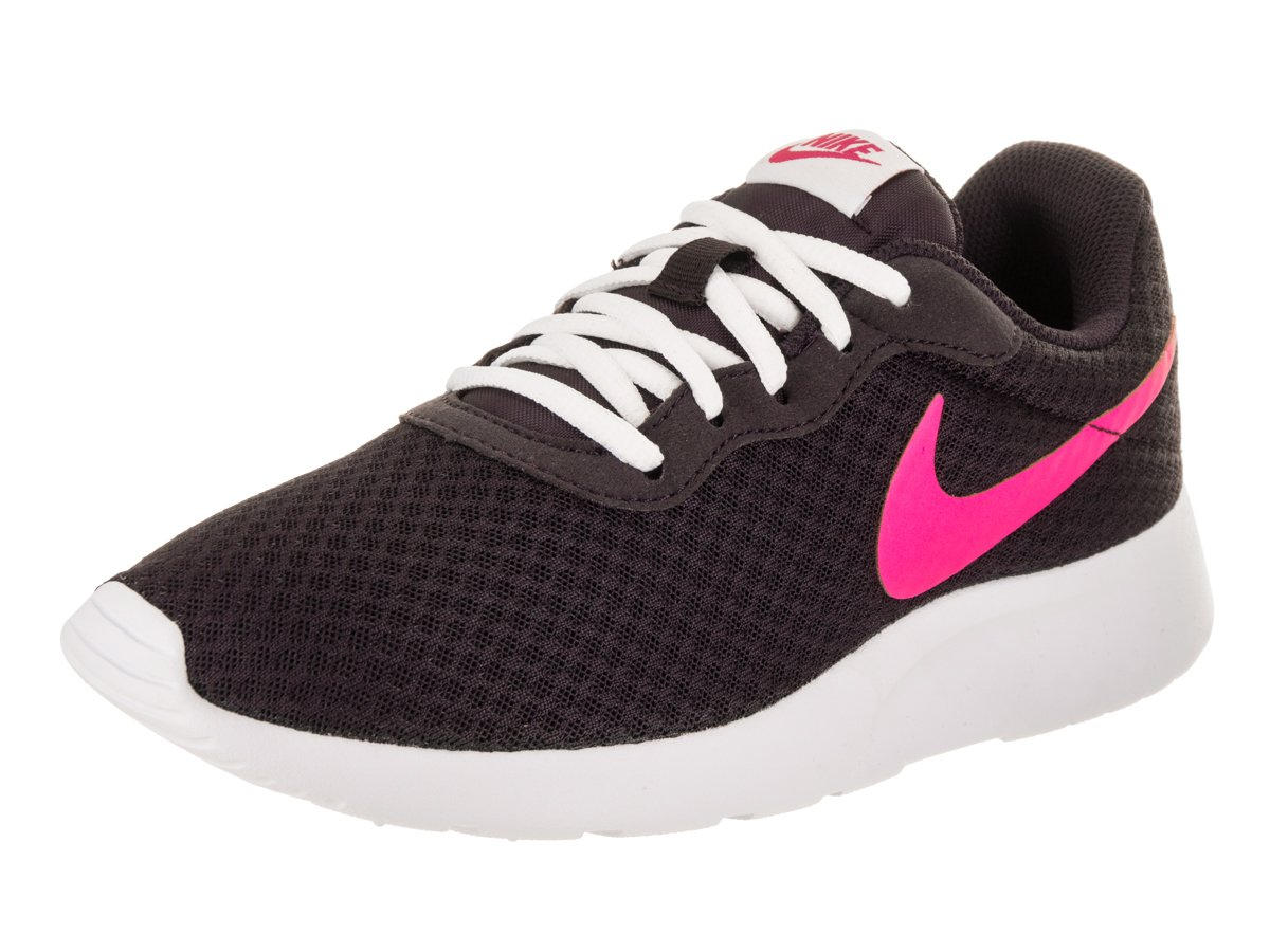 NIKE Women's Tanjun Running Shoes B06W52MM2H 5.5 B(M) US|Port Wine / Deadly Pink-white