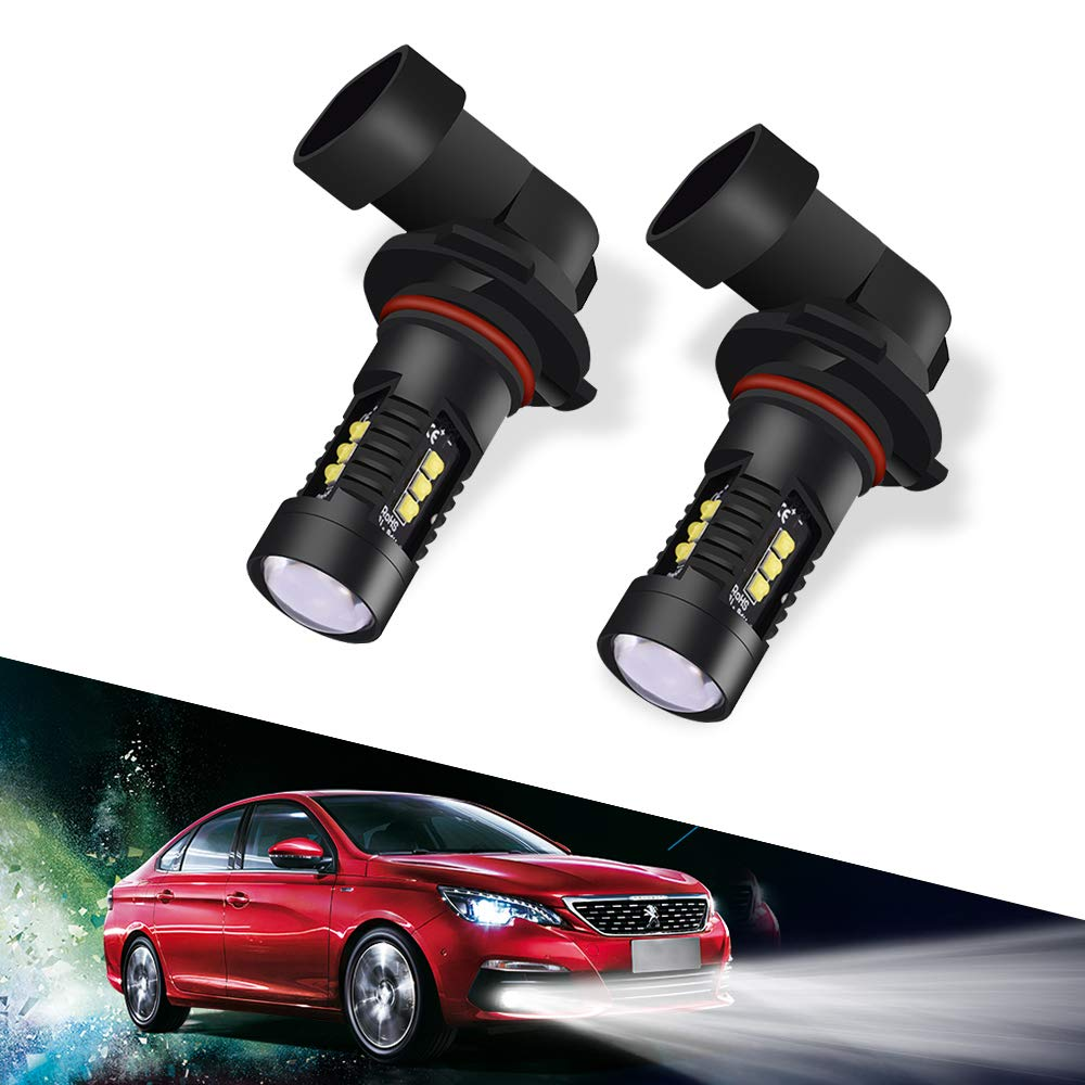H8 H9 H11 Led Fog Light Bulbs, LTPAG 1960 lm CREE Automotive Universal Super Bright White Auto Fog Lights Driving Lights