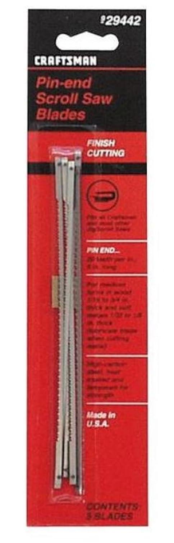 Craftsman pin end scroll saw blades amazon greentooth Choice Image