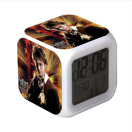 Hili watch Despertador Harry Potter, luz Blanca Suave, Colorido ...