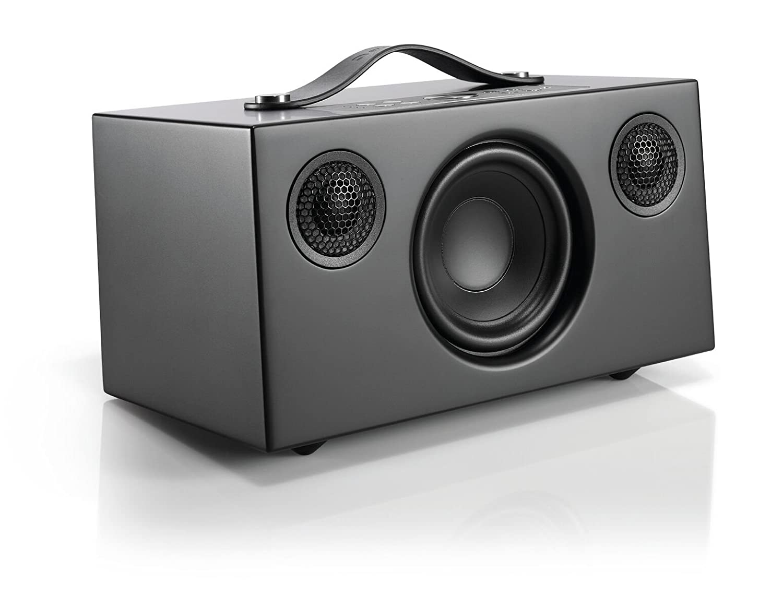 Audio Pro Addon C5 Altavoz (25 Watt, Multiroom, Stereo, WiFi, Bluetooth, App, Air Play, Music Apps (Spotify, Tidal, Deezer), Radio por Internet como TuneIn) Color Negro