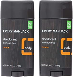 product image for Every Man Jack Deodorant 3 Ounce Citrus (Aluminum-Free) (2 Pack)