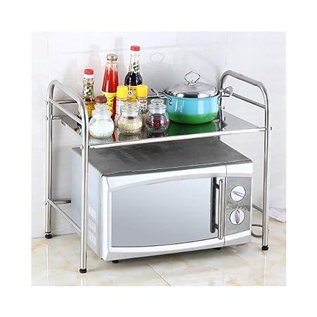 SGMYMX Horno microondas Estantes de Cocina de Acero ...