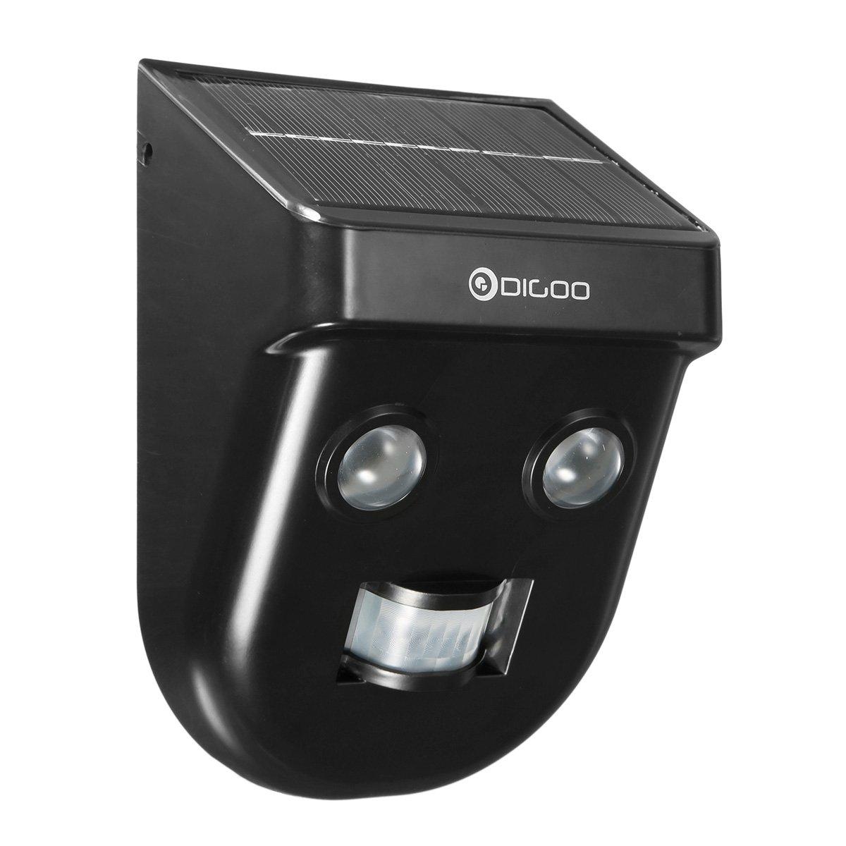 DIGOO DG-SSR-1 Lampada solare, Solar Gardener Wireless PIR Sensore Lunga Distanza Impermeabile Fuori Dall'esterno Mural Wuulihui_DE DIGOOWuulihuiDE241