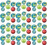 JW iSqueak Rubber Ball Medium 36pk