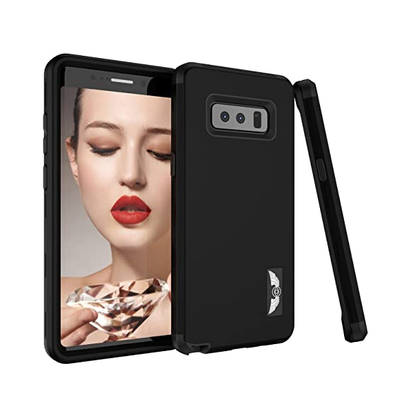 huge discount 7e1b4 7bf7a Galaxy Note 8 Case, AOKER [Perfect Desgin] Three Layer Heavy Duty  Shockproof High Impact Resistant Hybrid Drop-Protection Best Protective  Case Cover ...