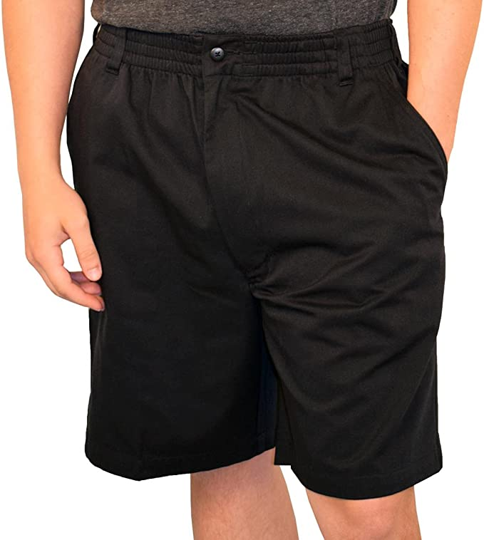 Lord Daniel LD Sport Big and Tall Fully Elastic Terry Cargo Shorts